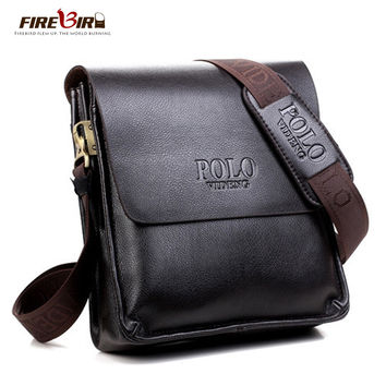 Firebird! Polo brand leather man bag designs, new business men leather messenger bag, men's cross-body bags FB2061