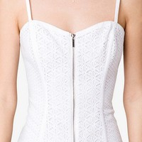 Eyelet Embroidered Bustier | FOREVER 21 - 2043989600