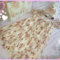 Liz Lisa Floral Lace Short Sleeve Dress from Kawaii Gyaru Shop