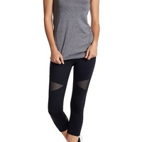 Z By Zella | High Waisted Blocked Crop Leggings | Nordstrom Rack