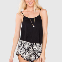 What A Stunner Pom Pom Shorts