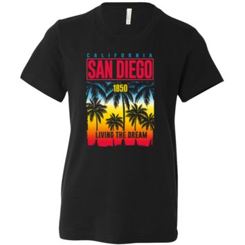 San Diego Living The Dream Asst Colors Youth T-Shirt/tee