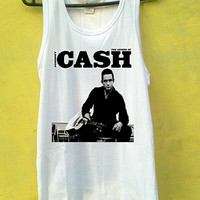 Johnny Cash Album Tank Top, Tank Top Girls, Girls Tank Top, Mens Tank Top, Womens Tank Top, Black Tank Top, White tank Top