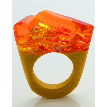 Murano Ring - Hatred - Similar to Cartier