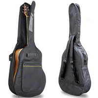 "2016 New 40"" 41"" Acoustic Guitar Double Straps Padded Guitar Soft Case Gig Bag Backpack High Quality"