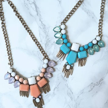 Empire Necklace | Mint