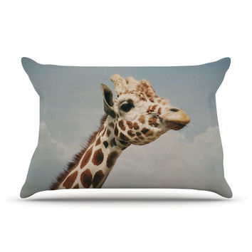 "Angie Turner ""Giraffe"" Animal Pillow Case"