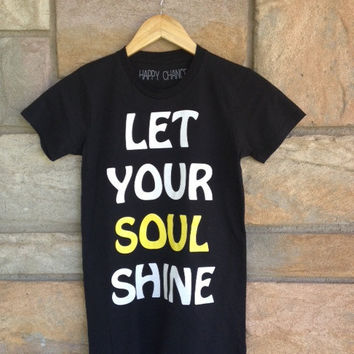 Soul Shine Favorite Crewneck  black by HappyChanceApparel on Etsy