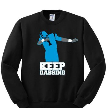 Keep Dabbing Carolina Panthers Sweatshirt Sports Clothing