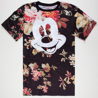 Neff Disney Collection Mickey Face Mens T-Shirt Multi  In Sizes