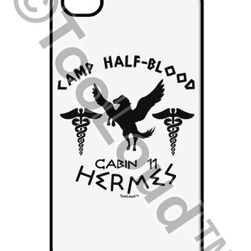 Camp Half Blood Cabin 11 Hermes iPhone 4 / 4S Case  by TooLoud