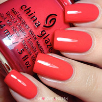 China Glaze I Brake For Color Nail Polish (Road Trip Collection)