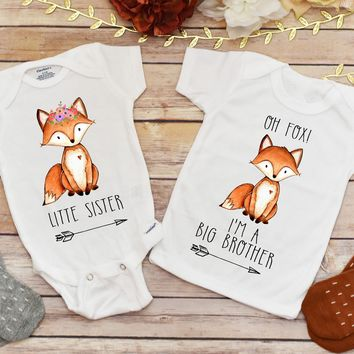 Brother and Sister Shirts, Pregnancy Announcement, I'm a Big Brother