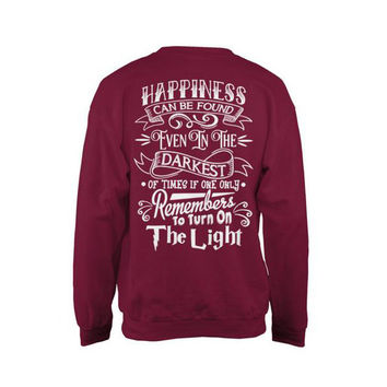 Harry Potter- Hapiness can be found even in the darkess -Unisex Sweatshirt - SSID2016