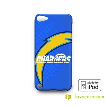 SAN DIEGO CHARGERS  iPod Touch 4 5 6 Case
