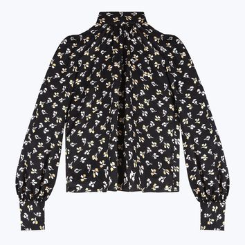 Geo Flower High Neck Blouse – Marc Jacobs
