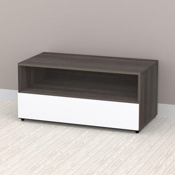 Allure 36'' TV Stand - 1 Open Shelf, 1 Drawer