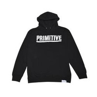 Primitive Apparel Primitive Apparel X Grizzly Gripped Pullover Hoodie - Black Mens Jackets and Sweaters at Primitive Shoes & Apparel