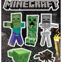 (5x7) Minecraft - Monsters Sticker Pack