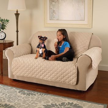 Select Microfiber Loveseat Saver