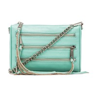 Rebecca Minkoff Mini 5 Zip in Mint