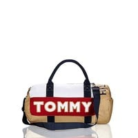 Khaki Duffle Bag | Tommy Hilfiger USA