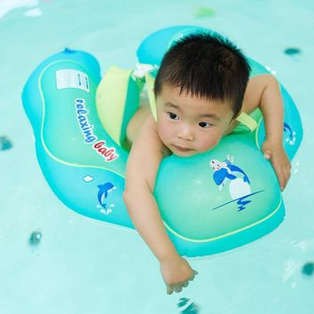 Baby Swimming Ring Child Swimming Floats Infant Armpit Floating Kids Swimming Pool Water Play Toys Bath Inflatable Swim Circle
