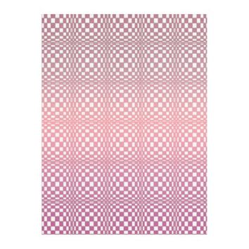 Abstract Squares 9 Fleece Blanket