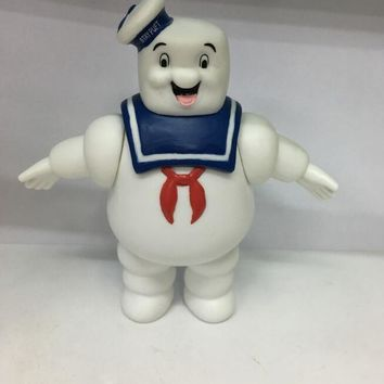 1Pcs/set 14cm Cute Vintage Ghostbusters Marshmallow Man Bank Sailor Action Figure Toy Dolls