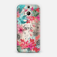 TROPICAL GARDEN HTC One M8 transparent case HTC One M8 case by Monika Strigel | Casetify