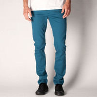 Kr3w K Skinny Mens Jeans Teal Blue  In Sizes
