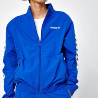 adidas TNT Tape Wind Blue and White Track Jacket at PacSun.com