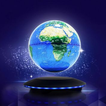Magnetic Levitation Floating Globe Anti Gravity World Map Suspending In The Air Decoration Gadget Birthday Gift Educational Toy
