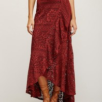 Free People Masquerade Maxi Skirt
