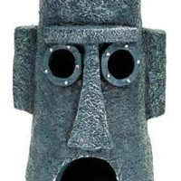 Squidward Easter Island Home Spongebob Ornament
