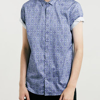 Premium Short Sleeve Blue Shirt - New This Week - New In