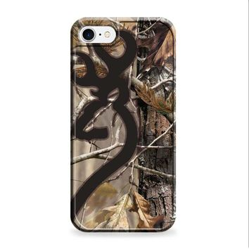 Love Browning Deer Camo Real Tree Couple iPhone 7 | iPhone 7 Plus case