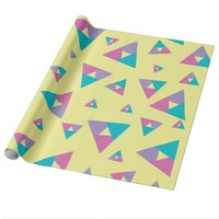 Triangle 1 wrapping paper