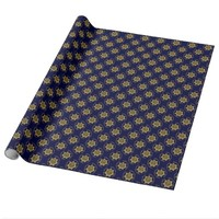 Correctional Officer Gold-Blue Badge, Gift Wrap