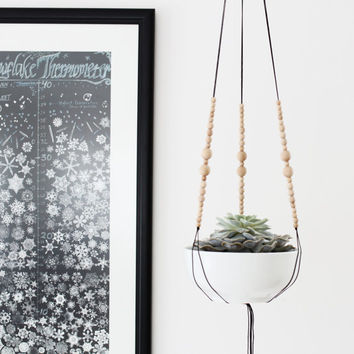 Best Macrame Plant Hanger Beads Products On Wanelo