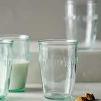 Euro Milk Glass Set