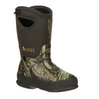 Rocky Core Adolescent Rubber Waterproof Insulated Pull-on Boot