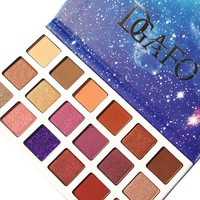 DGAFO New 18 Palette Colors Eyeshadow Smoky Shimmer Cosmetics Matte Glitter Shimmer Eye Shadow Makeup Palette Eyeshadow Palette