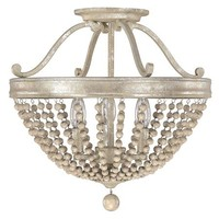 Beaded Elegance Ceiling Light - Shades of Light