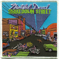Grateful Dead Iron-On Patch Shakedown Street Logo