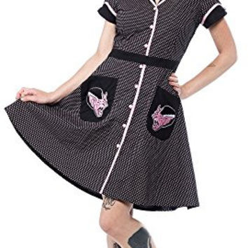 Sourpuss Kittenstein Diner Dress