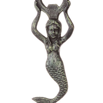 Cast Iron Mermaid Bottle Opener - PLASTICLAND