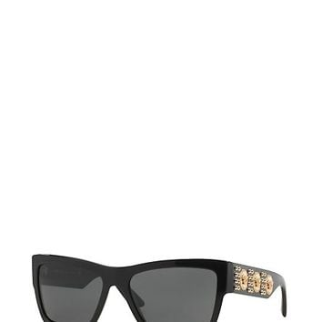 Versace - Black Sunglasses with 3 Medusas