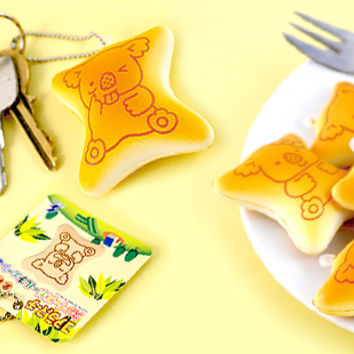Buy Lotte Koala March Biscuit Squishy Keychain at Tofu Cute