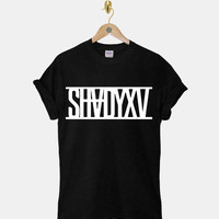 Eminem Shady DTG ScreenPrint 100% pre-shrunk cotton for t shirt mens and t shirt woman at kahitna